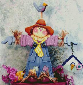 Bob The Springtime Scarecrow